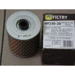 Filtr oleju wkład WO30-20