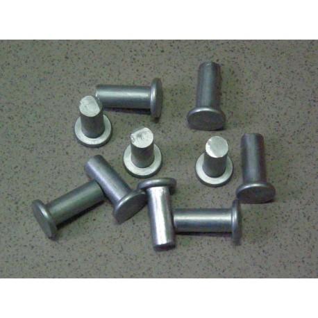 Nit okładziny 10x28 aluminiowy pełny płaski