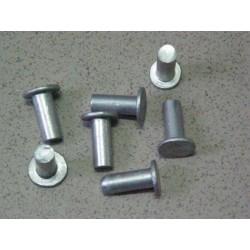 Nit okładziny 8x22 aluminiowy pełny płaski