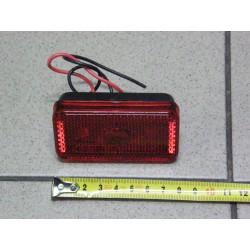 Lampa obrysowa żarówkowa prostokątna