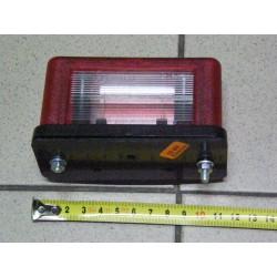 Lampa oświetlenia tablicy rejestracyjnej