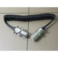 Przewód elektryczny spiralny 7-pinowy typu S